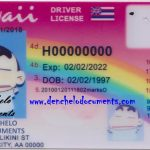 Buy Hawaii Drivers License Online – HI