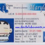Buy Maryland Drivers License Online – MD