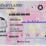 Buy Maryland Drivers License Online – MD (New)