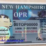 Buy New Hampshire Drivers License Online – NH