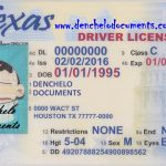 Buy Texas Driver's License Online – TX (DOB before 1996-09-30)