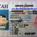 Buy Utah Drivers License Online – UT (New)